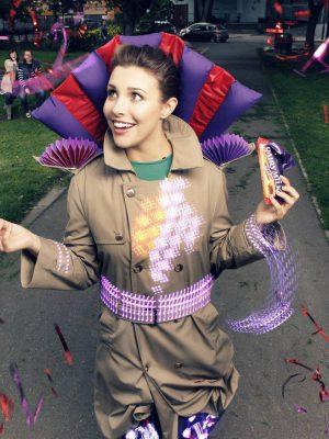 Interactive Joy Jacket - Cadbury / Hirsh&Mann Studio