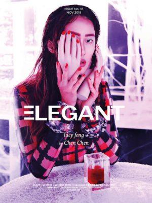 Front cover/Elegant Mag Nov 2015
