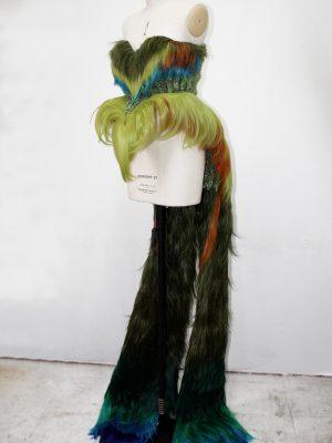 Hummingbird Stilt Walker Costume -  J. Burn