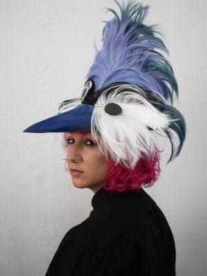 Blue Jay Headdress - J. Burn