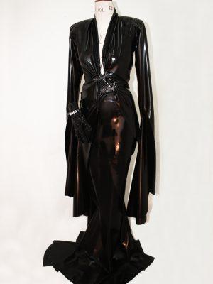 647b8f5d0e8 Bespoke Morticia Addams Latex Costume - Drag Queen Ryan Kincade (USA)